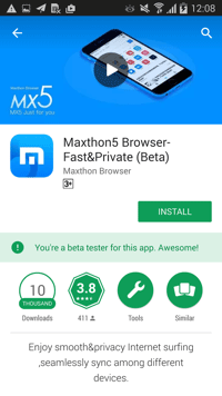 how to download Android beta